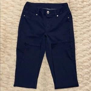 Maurices navy jeggings